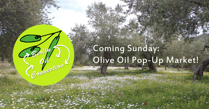 April 7th: New Olive Oil Pop Up Market in Laidak
