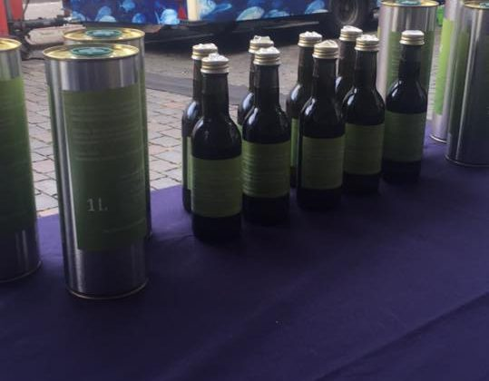Special Olive Oil and soap at Prenzlauer Berg farmer's market in Seelower str. every Saturday.