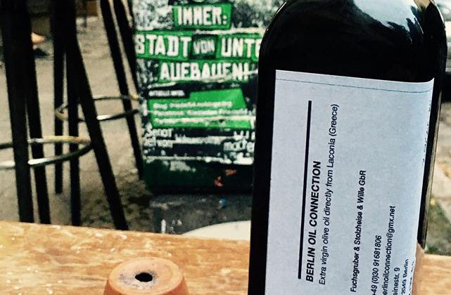 3. November in Berlin: Olivenöl Popup Market (Laidak)